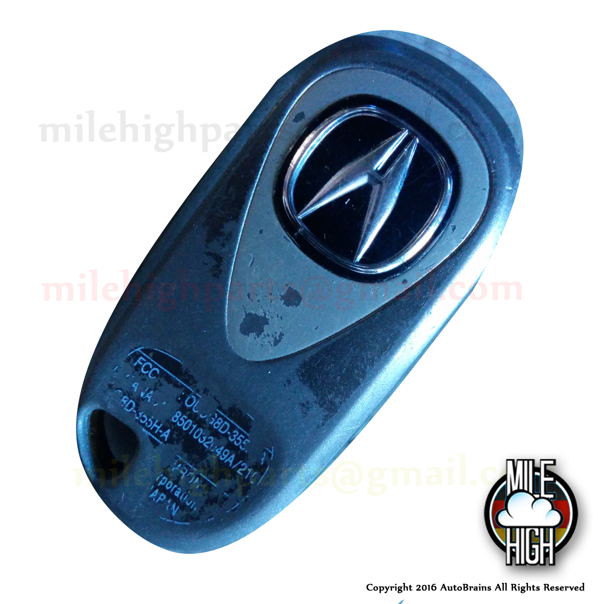 02-06 Acura RSX Remote Key Fob OEM Used