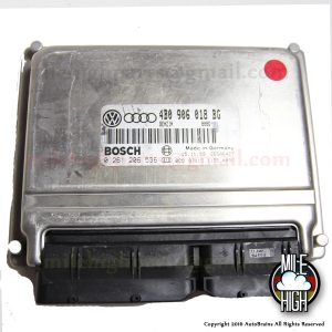 00 01 Audi A4 1.8T VW Passat OEM Engine Computer ECU ECM 4B0 906 018 BG