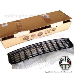 04 05 Audi S4 B6 OEM EURO Lower Bumper Grill Black Charcoal NEW IN BOX