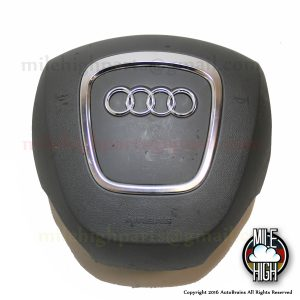 06-09 Audi A4 Steering Wheel Airbag Driver OEM 4fd 880 201 1DH Grey Gray