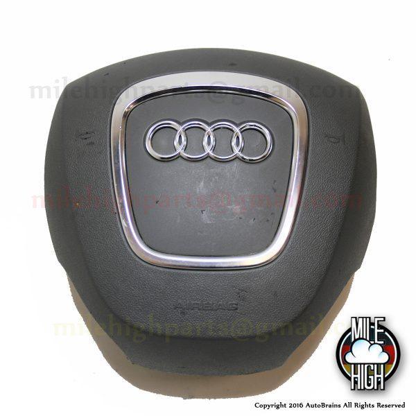 06-09 Audi A4 Steering Wheel Airbag Driver OEM 4fd 880 201 1DH Grey Gray