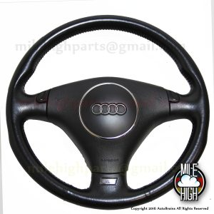 00 01 02 Audi S8 Steering Wheel w/Airbag OEM Euro D2 RARE