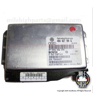 98 99 00 Audi A4 A6 2.8L Transmission Control Computer TCM TCU 2.8 C5 1998 1999