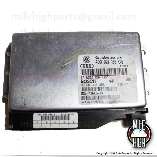 1998 Audi A8 4.2L Transmission Control Computer TCU TCM 4D0 927 156 CR 1999 98 99