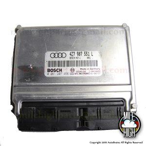 01 02 03 04 Audi Allroad A6 C5 Quattro 2.7T Engine Computer ECU ECM 4Z7 907 551 L