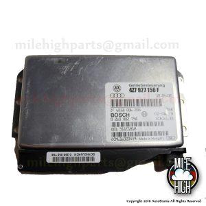 02 03 04 Audi Allroad 2.7T Transmission Control Computer TCM TCU 2.7 C5 A6