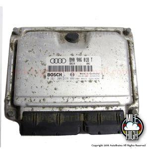 00 01 02 Audi TT S 225hp OEM Engine Computer ECU ECM 8N0 906 018 T M/T 03 04