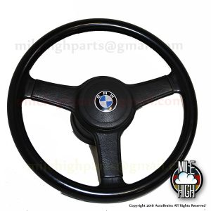 77-83 BMW E21 320is Sport Steering Wheel Three Spoke 320i 323i Euro
