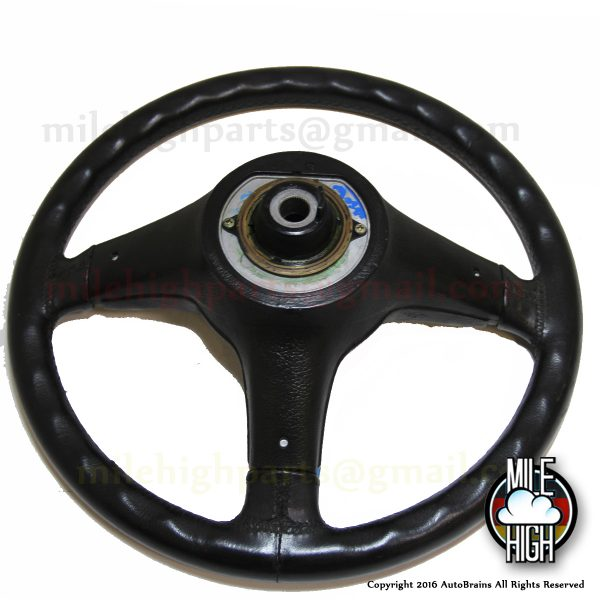 76-89 BMW E24 633csi M Tech Sport Steering Wheel Three Spoke Euro RARE