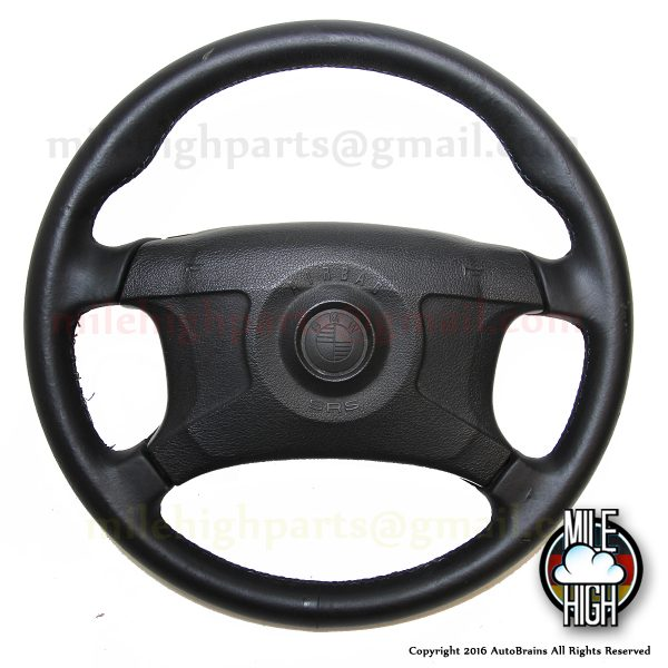 95-99 BMW E36 M3 Sport Steering Wheel Four Spoke w/Airbag OEM