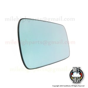 92-05 BMW 3 & 5 Series Driver LH Heated Mirror Glass OEM E36 E46 E39