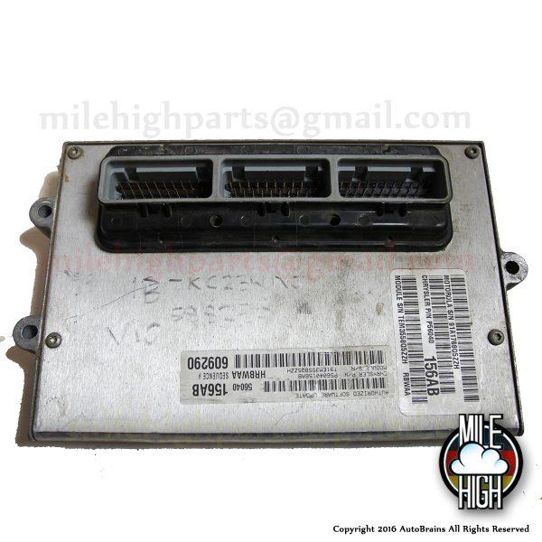 96 97 98 Dodge Ram 2500 V10 8.0L OEM Engine Computer ECU ECM 1997 3500