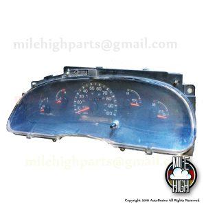 97-99 Ford Econoline Diesel Speedometer Cluster 71k Miles E150 E250 E350 E450SD