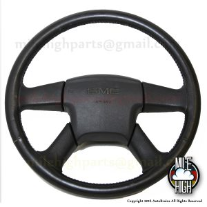 02-09 GMC Four Spoke Steering Wheel w/Airbag ENVOY YUKON SILVERADO TAHOE