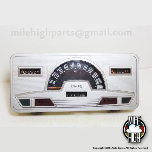 63-72 Jeep Super Wagoneer Speedometer Instrument Cluster Gauge Panel Woody AMC