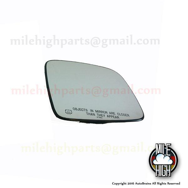 02-07 Jeep Liberty OEM Mirror Glass RH Passenger Side Heated OEM
