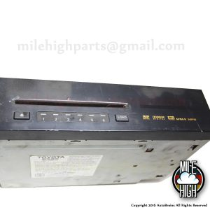 07 08 09 Lexus GX470 OEM CD DVD MP3 Changer Radio Stereo 86270-60160
