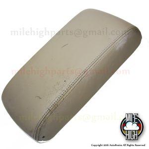92-00 Lexus SC400 SC300 Armrest Assembly Console Latch Leather Tan Beige OEM SC