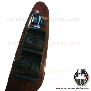 93 94 95 96 97 Lexus GS300 Driver Master Window Switch OEM Wood