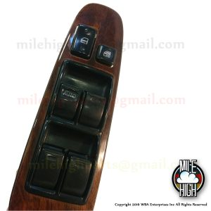 95 96 97 Lexus LS400 Master Window Switch Driver with wood trim
