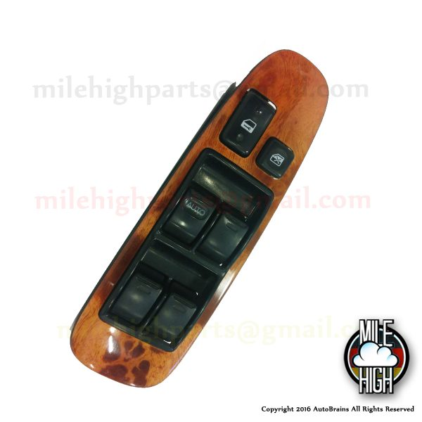 95 96 97 Lexus LS400 Master Window Switch with wood trim