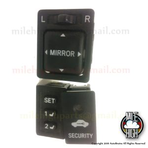 95 96 97 Land Cruiser Toyota Lexus LX470 LX450 Mirror Seat Switch