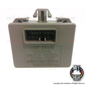 99-03 Lexus RX300 Brake Lamp Failure Error Light Module 89373-20240