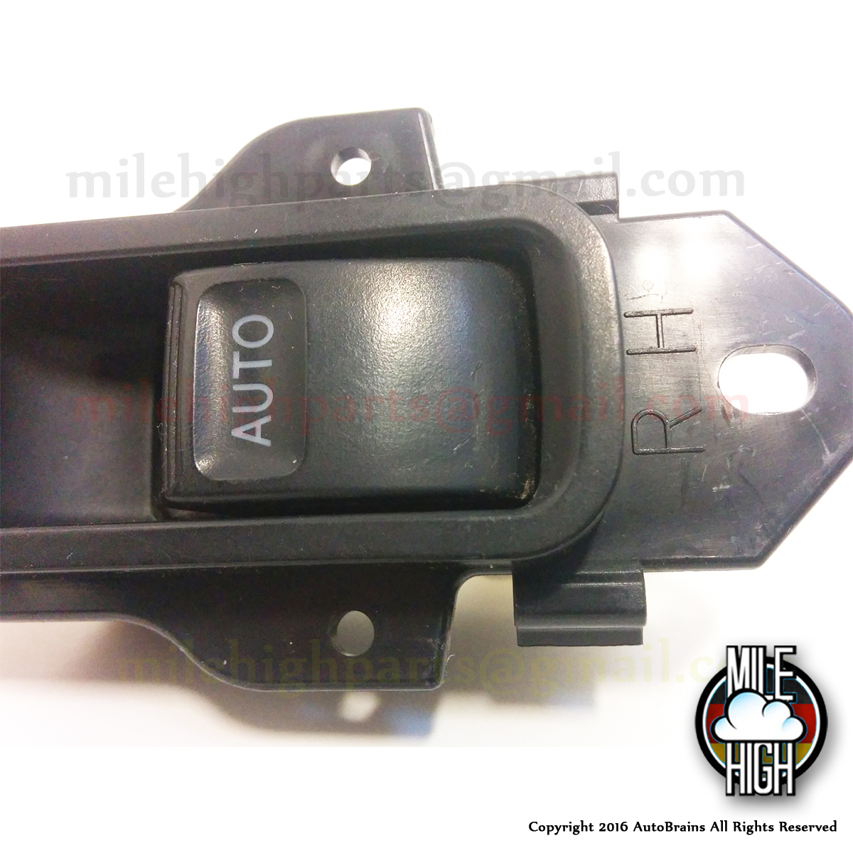 Lexus Rx Rh Rear Window Switch Bare