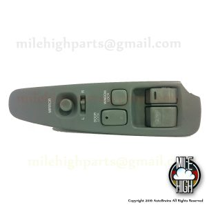 92-00 Lexus SC300 SC Master Driver Window Switch w/ Trim Gray B GRADE