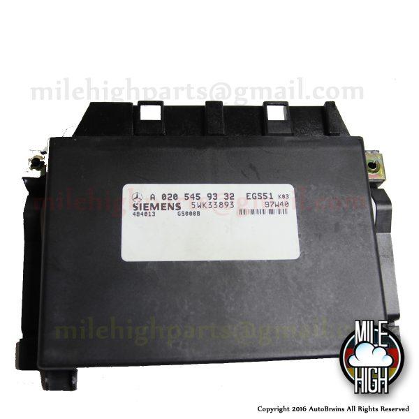 98 99 Mercedes C E Class Transmission Control TCM TCU EGS 020 545 93 32 E320 C280