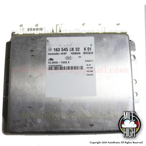 00 01 02 Mercedes ML320 W163 4ESP BAS ABS Traction Control Module ECU ESP