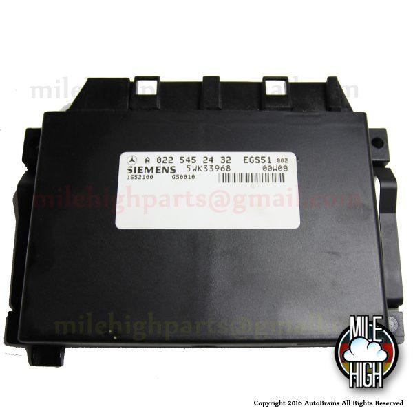 98 99 00 Mercedes ML 320 Transmission Control TCU TCM ML320 ML430 430 W163 EGS
