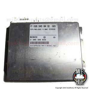 00 01 02 Mercedes S Class W220 ESP ABS Traction Control Module ECU TCM S430 S500