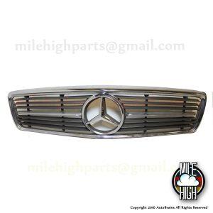 72-89 Mercedes SL Hood Grill with Emblem R107 450SL 380SL 560SL