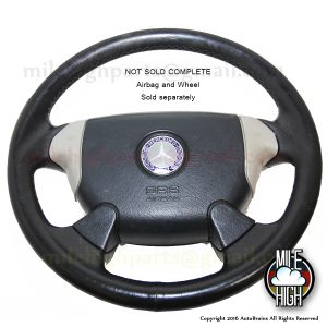 97-00 Mercedes Benz SLK Roadster Steering Wheel SRS SLK230 Sport R170 AMG