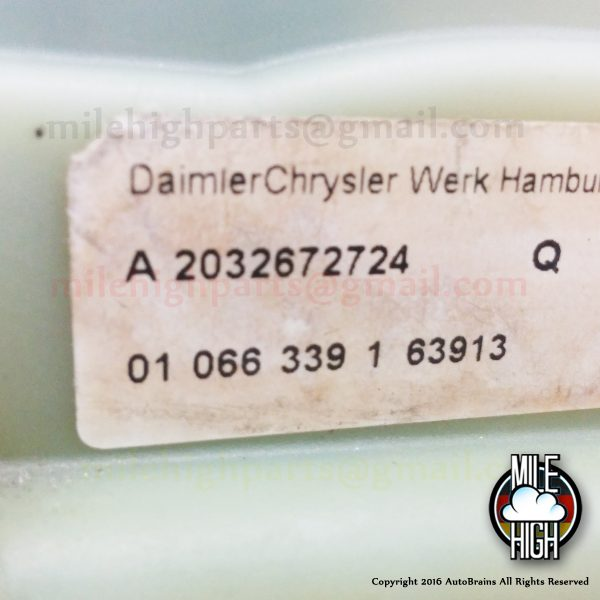 01-05 Mercedes Benz W203 C230 C240 C320 C32 Shifter Assembly OEM