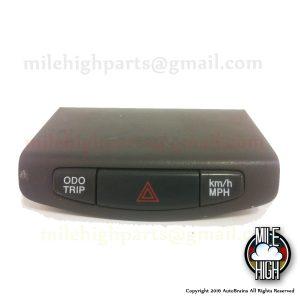 01 02 03 Toyota Prius Hazard Trip Computer Switch OEM 758363