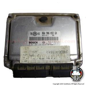 01 02 VW Golf Jetta 1.8T Turbo Engine Computer ECU ECM 06A 906 032 GH 2001 2002