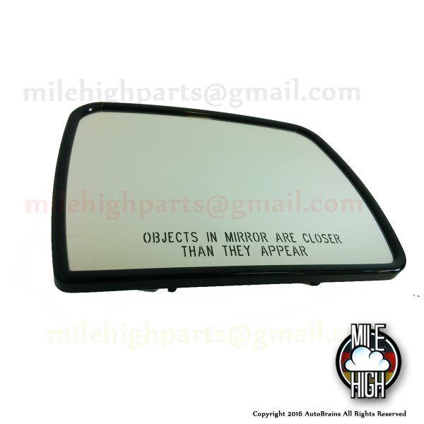 00-06 BMW X5 e53 & 05-09 Rover LR3 LR4 OEM RH Passenger Dimming Mirror Glass