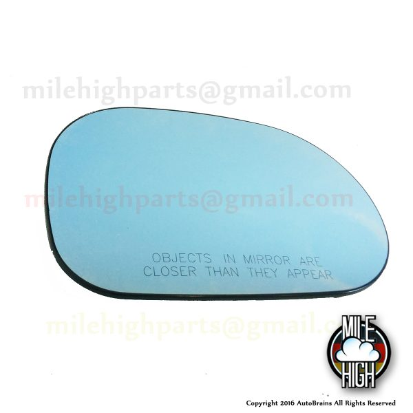 02-05 Mercedes ML W163 RH Passenger Blue OEM Heated Mirror Glass W163